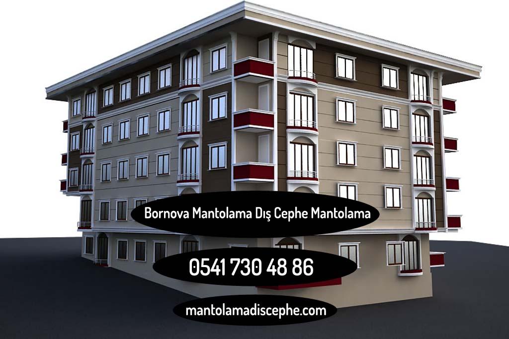 Bornova Atatürk Mahallesi Mantolama Dış Cephe Mantolama